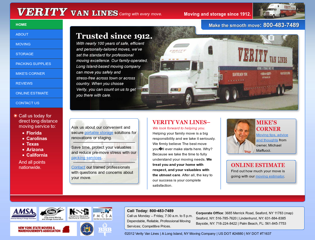 Verityvanlines Competitors, Revenue and