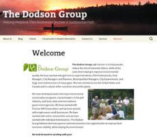 the dodson groups website screenshot on sep 2017