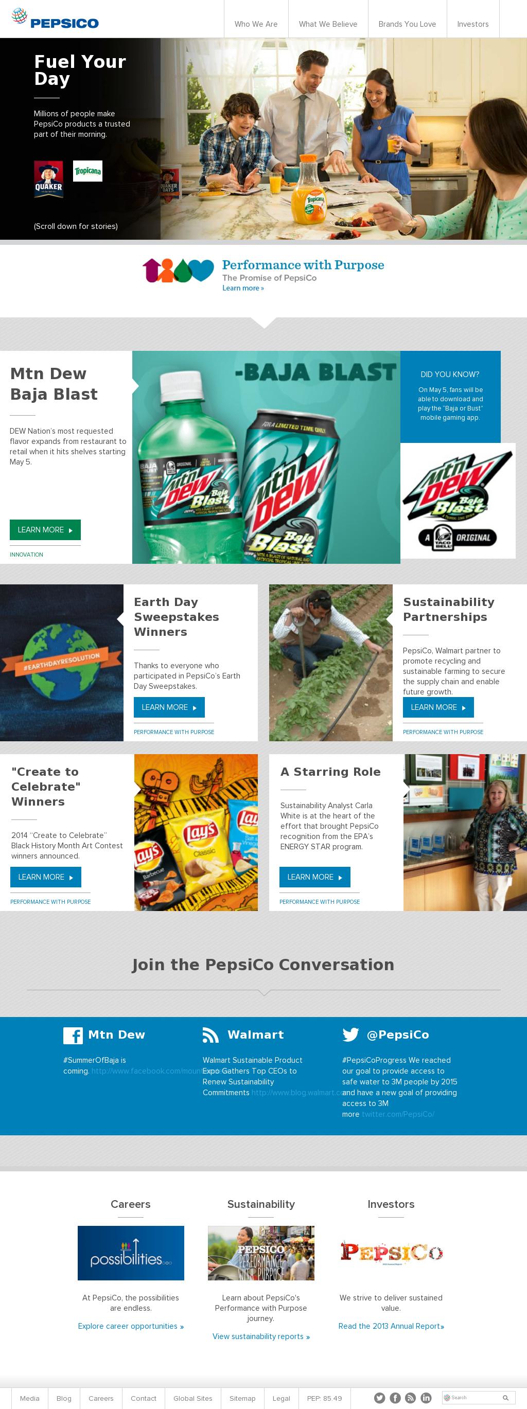 PepsiCo Competitors, Revenue and Employees - Owler Company