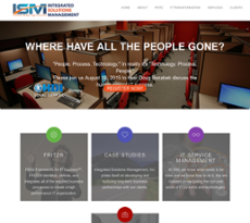 Integrated Solutions Management website history