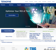 teradyne company profile Teradyne (nyse:ter) is a leading supplier of automation solutions for test and industrial applications teradyne automatic test equipment (ate) is used to test.
