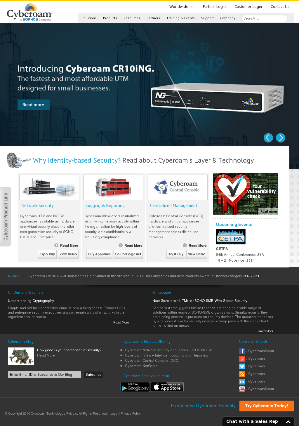 Cyberoam Competitors, Revenue and Employees - Owler Company