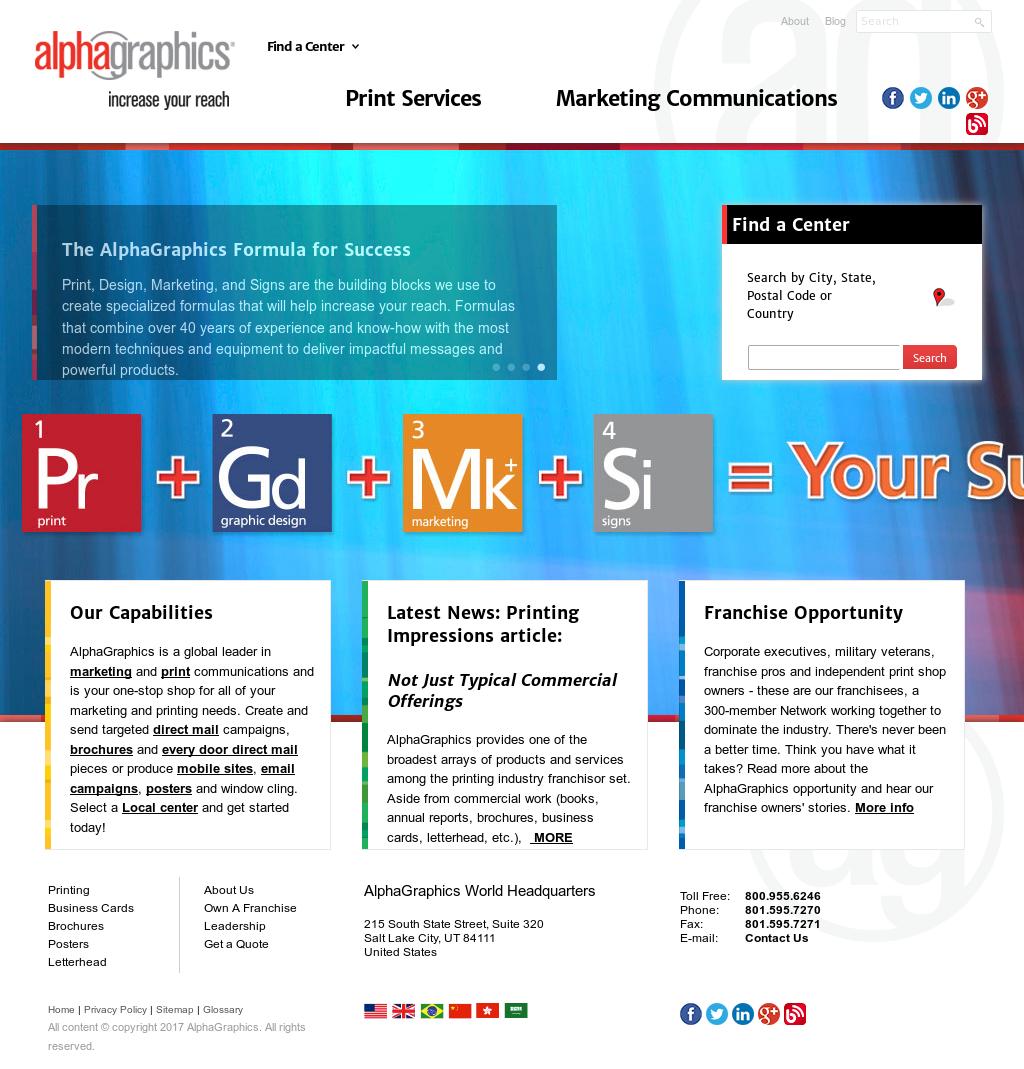 Alphagraphics competitors revenue and employees owler company profile colourmoves