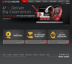 Steelhouse website history