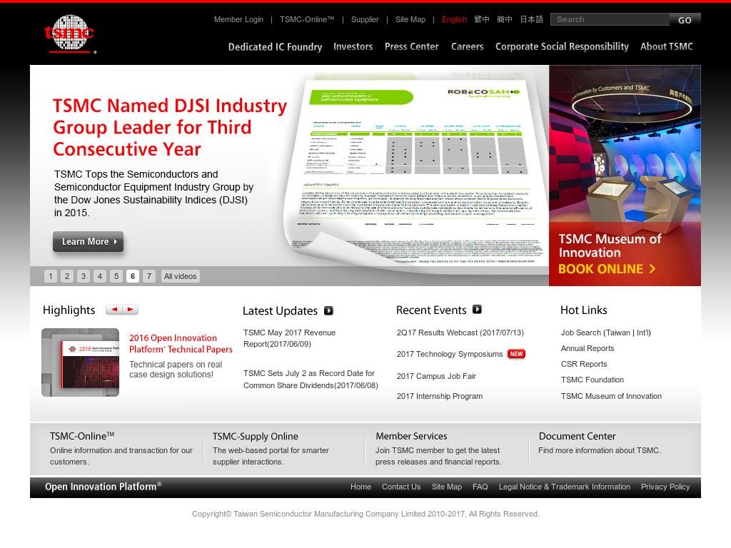 TSMC Competitors, Revenue and Employees - Owler Company Profile
