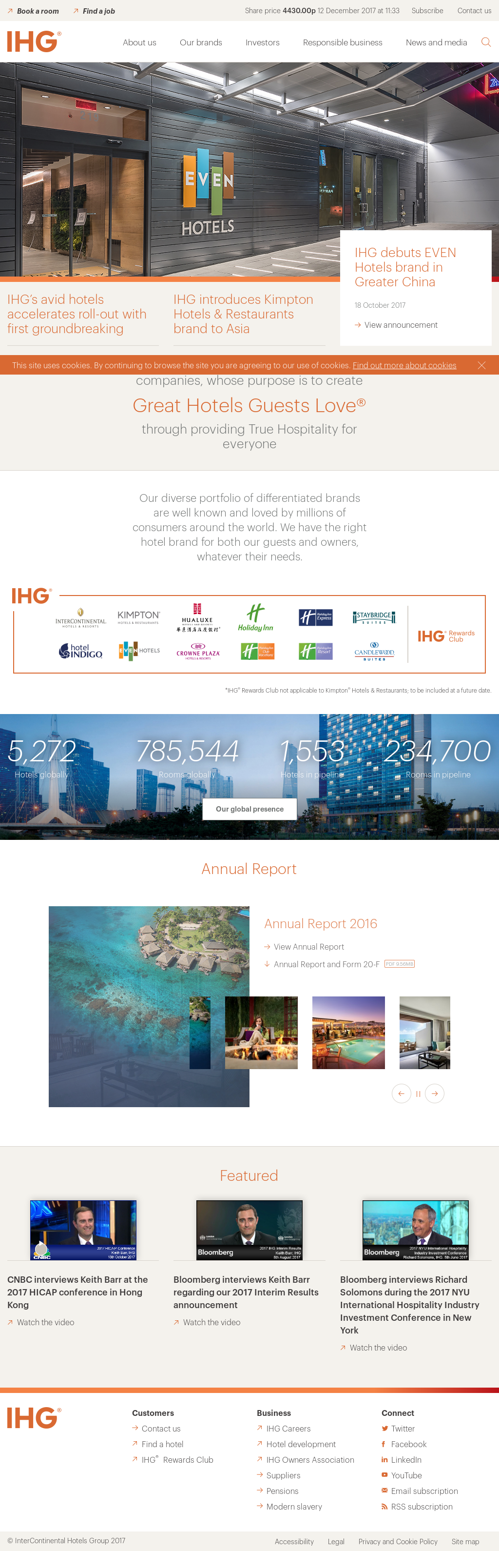 IHG Competitors, Revenue and Employees - Owler Company Profile