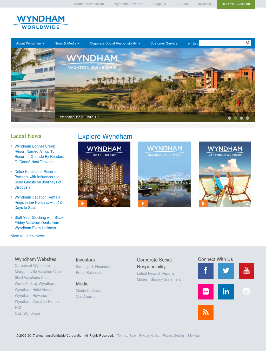 wyndham competitors revenue and employees owler company profile