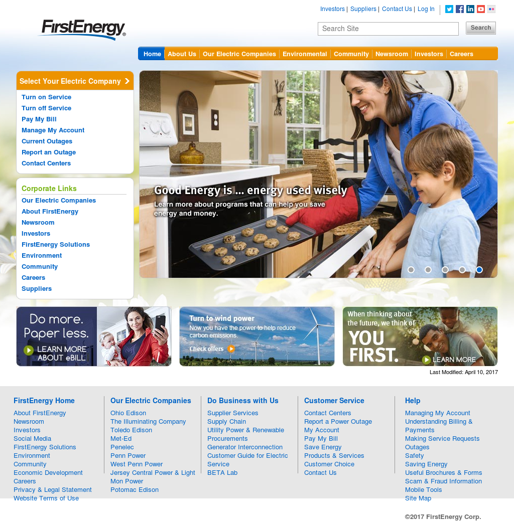 First Energy Power Outage Map Ace Energy