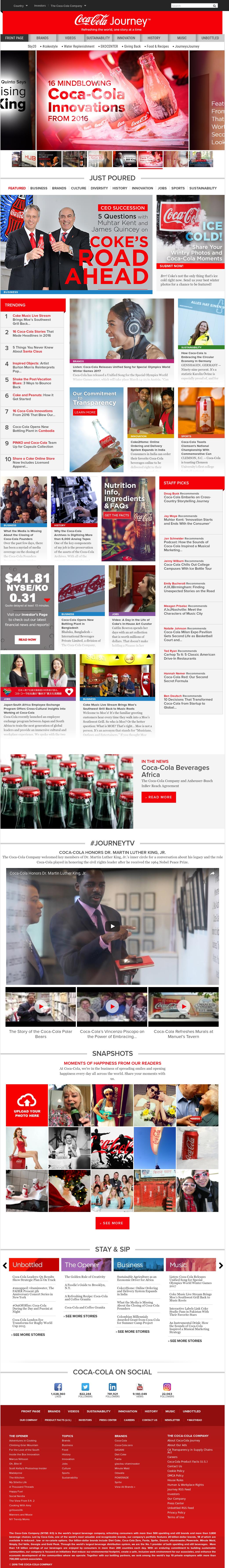 coca cola direct competitors