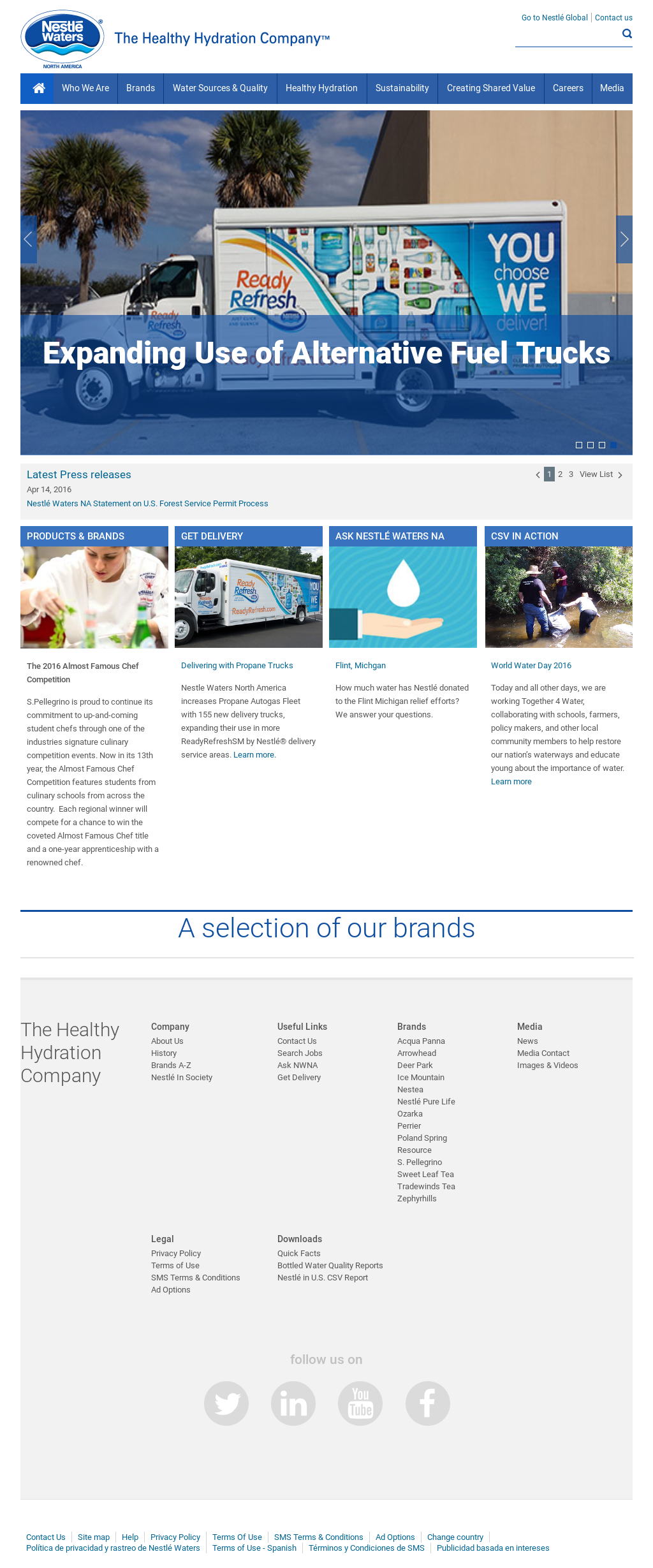 Nestle Waters NA Competitors, Revenue and Employees - Owler