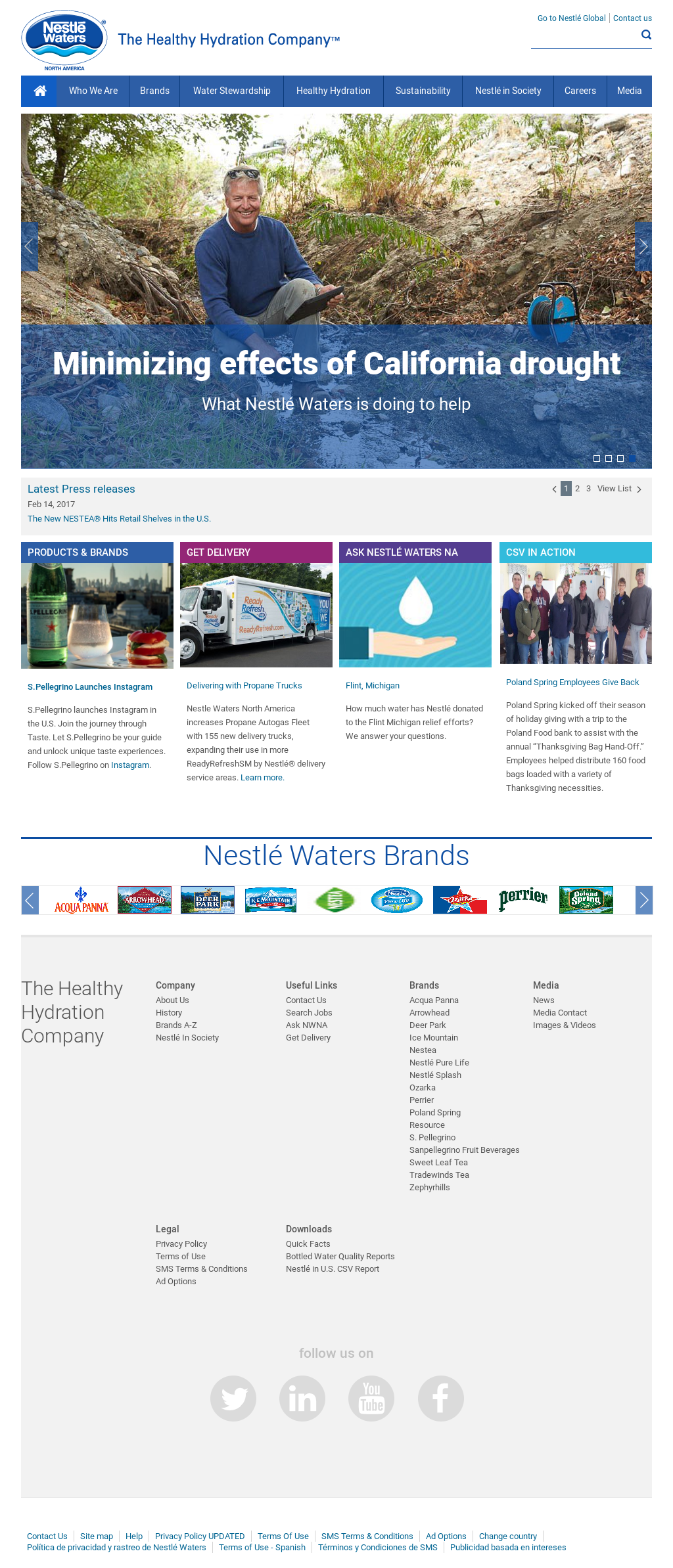 Nestle Waters NA Competitors, Revenue and Employees - Owler Company