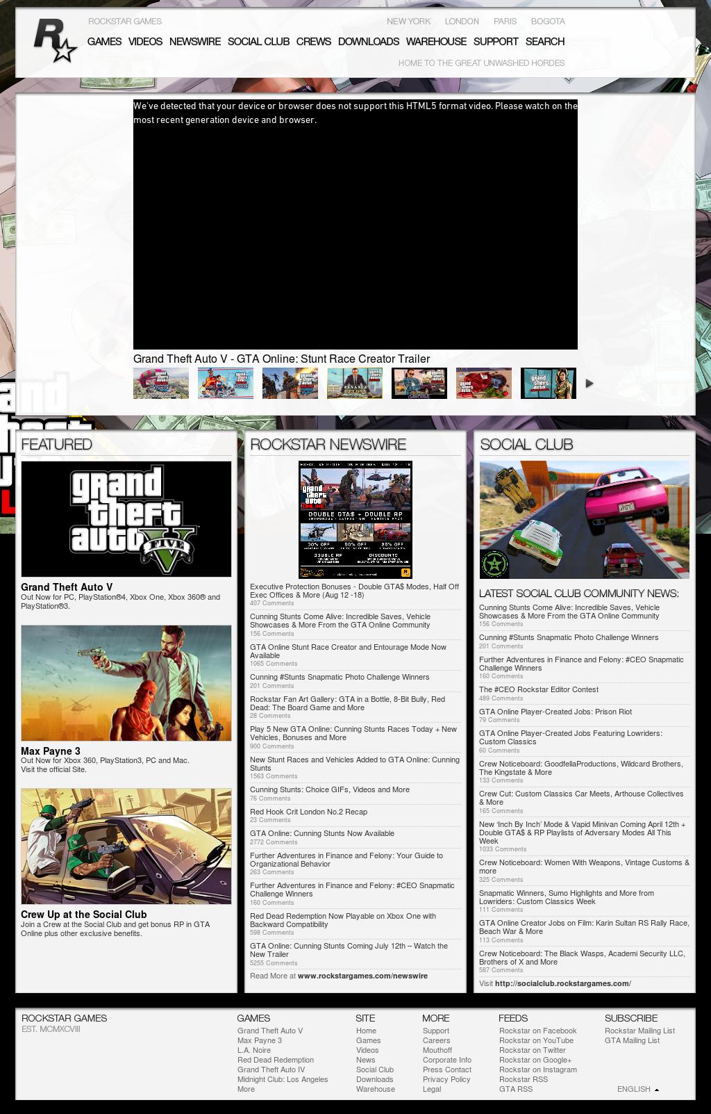 Rockstar Competitors, Revenue and Employees - Owler Company Profile