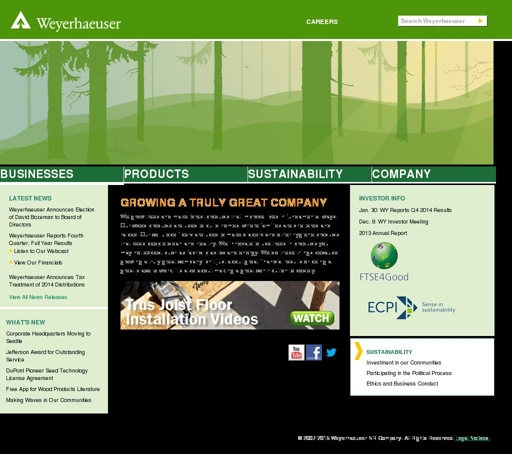 Weyerhaeuser Competitors, Revenue and Employees - Owler