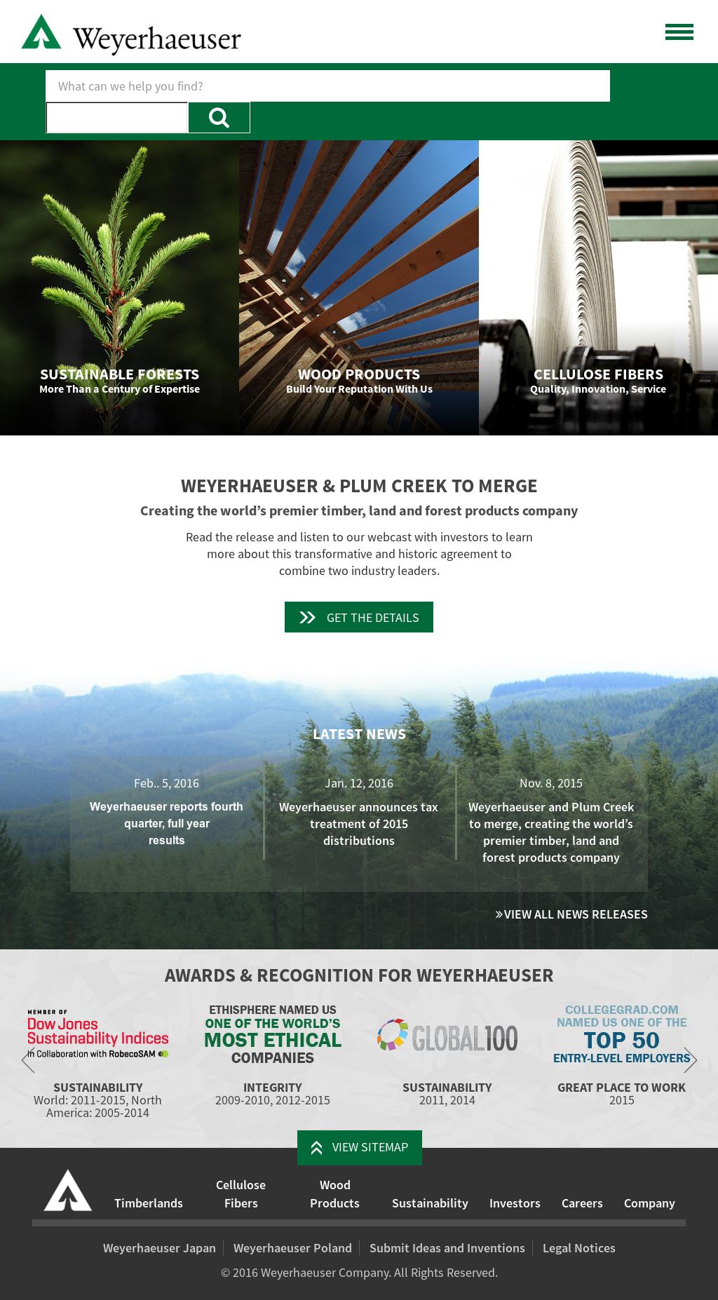 Weyerhaeuser Competitors, Revenue and Employees - Owler Company Profile