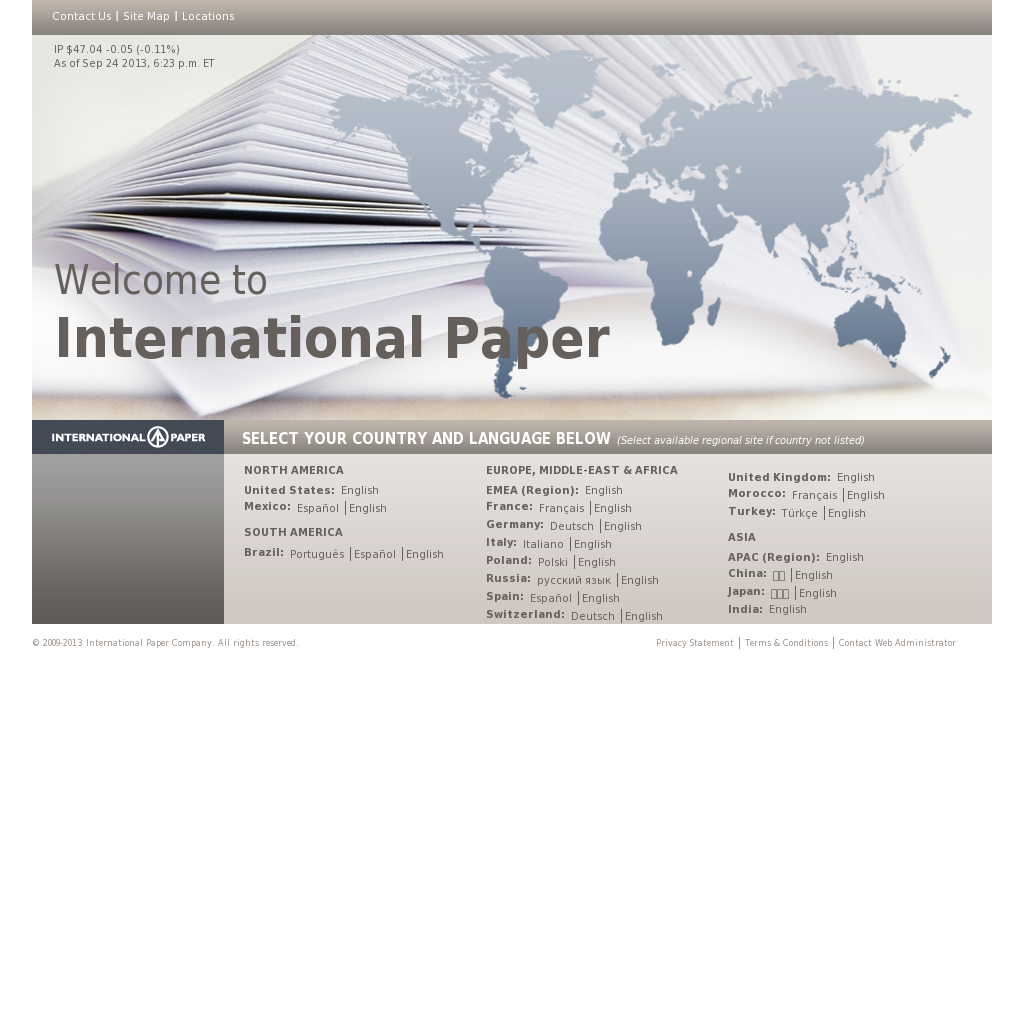 International Paper Competitors, Revenue and Employees