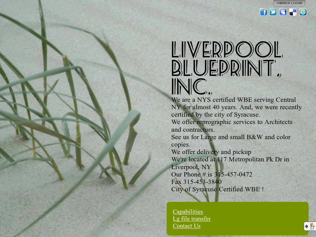 Liverpool blueprint competitors revenue and employees owler liverpool blueprint website history malvernweather Images