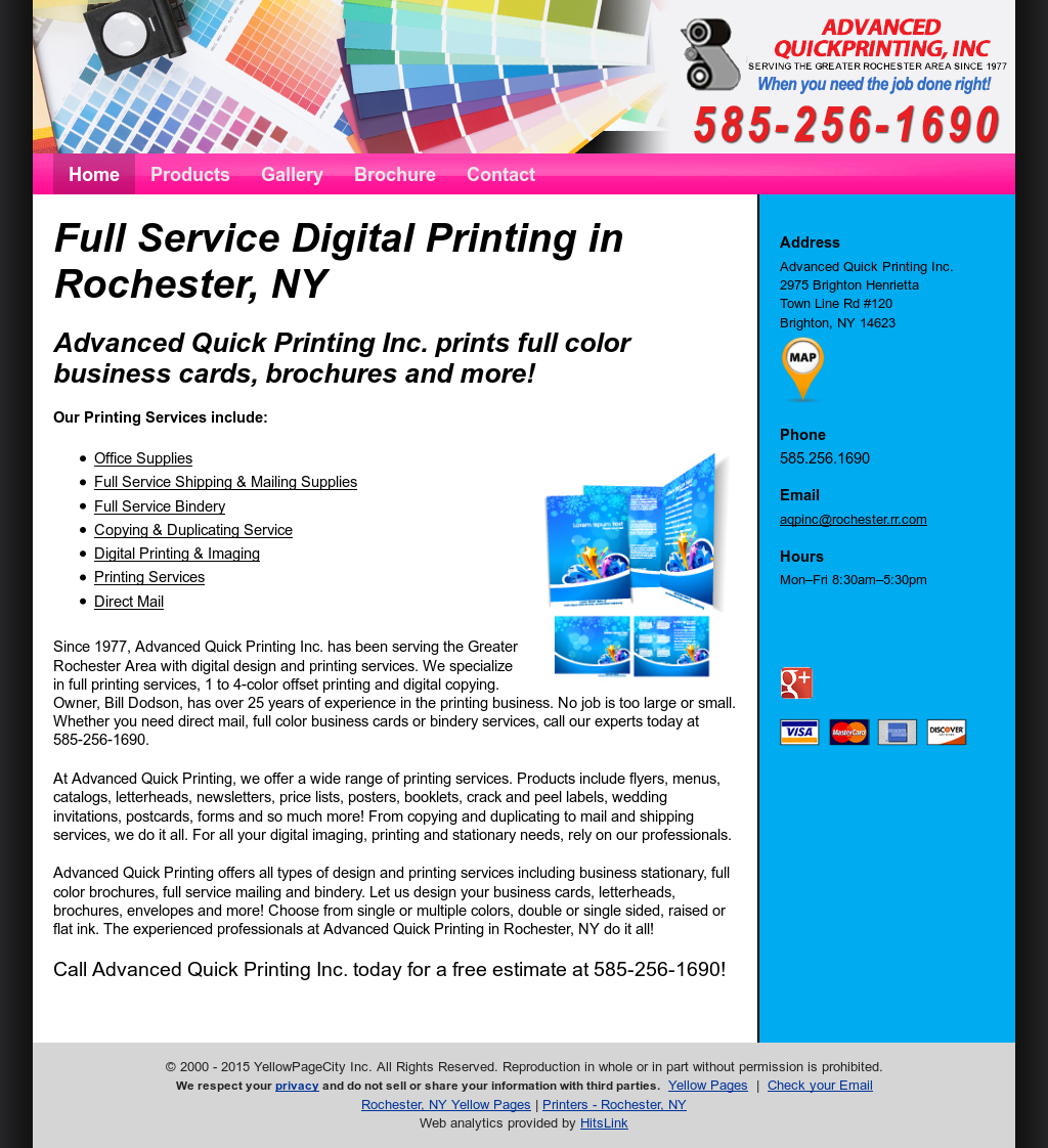 Advanced Quick Printing Competitors, Revenue and Employees - Owler ...