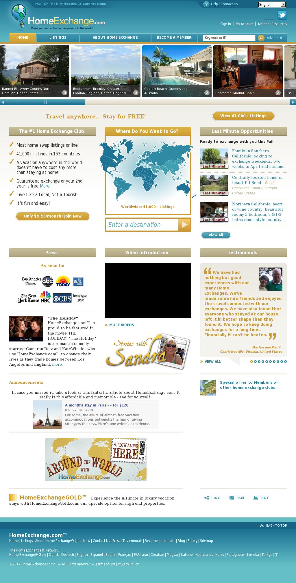 Homeexchange Compeors Revenue And