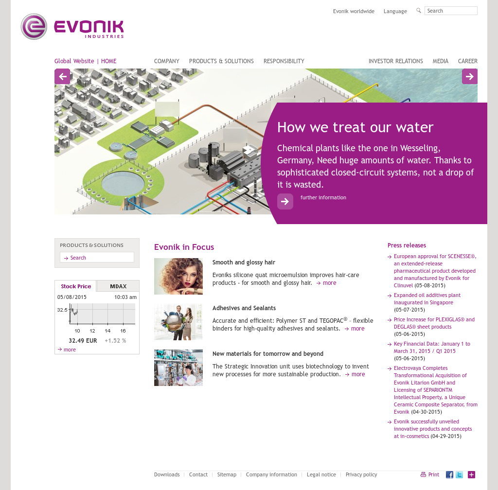 Evonik Competitors, Revenue and Employees - Owler Company Profile
