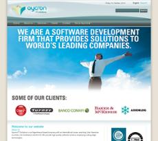 Aycron website history
