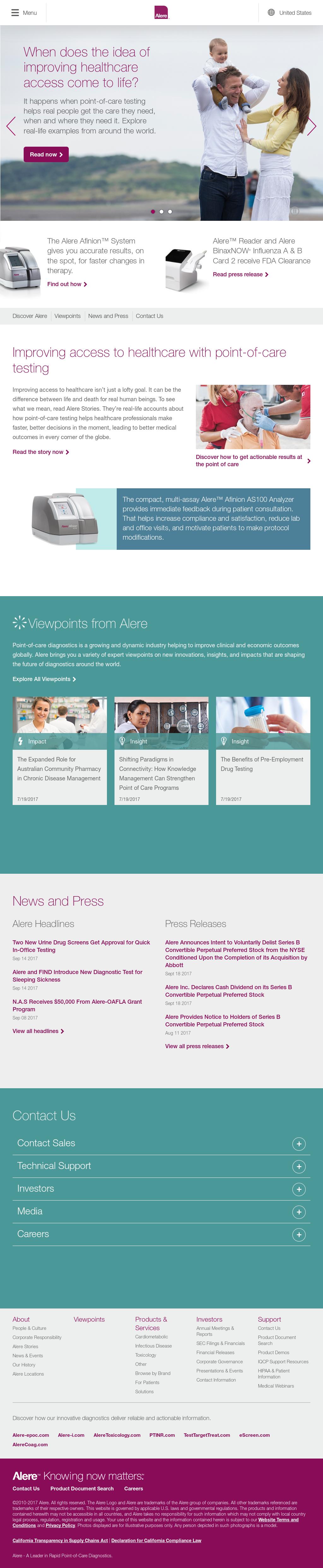 Alere Competitors, Revenue and Employees - Owler Company Profile
