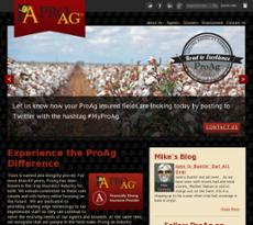 ProAg website history