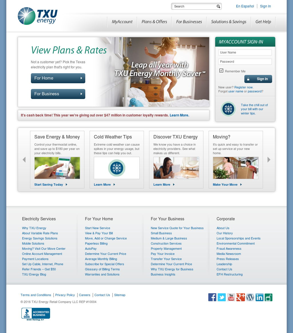 Txu Energy Plans >> Txu Energy Competitors Revenue And Employees Owler