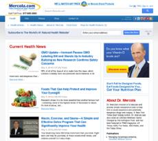 Mercola website history