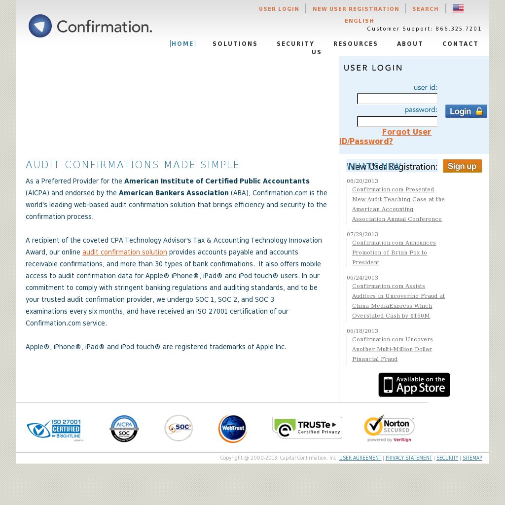 Capital Confirmation Competitors, Revenue and Employees