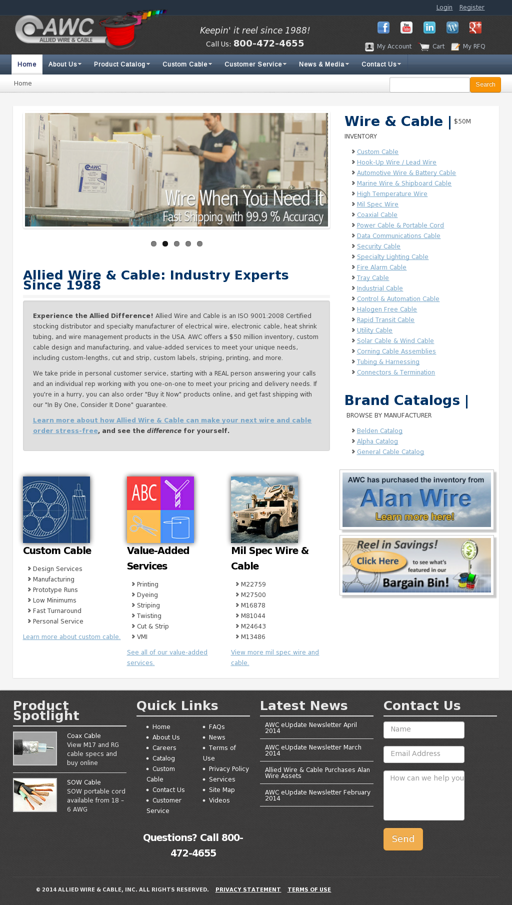 Allied Wire & Cable Competitors, Revenue and Employees - Owler ...