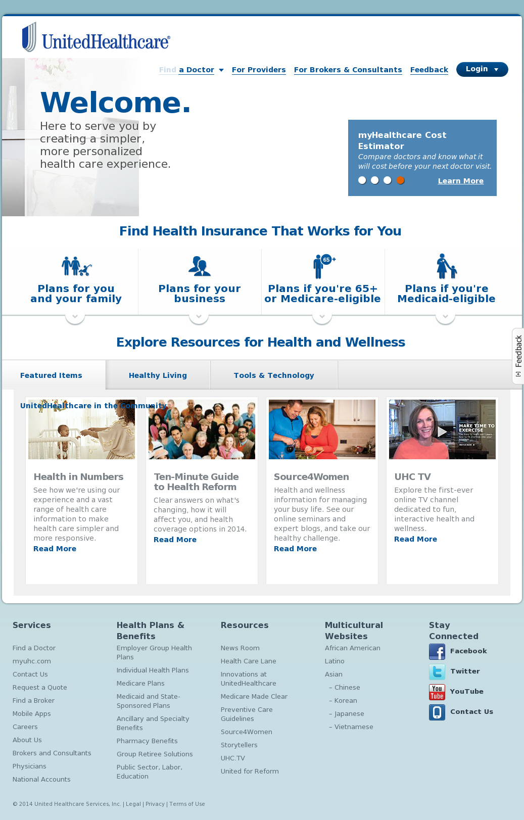 UnitedHealthcare Competitors, Revenue and Employees - Owler Company