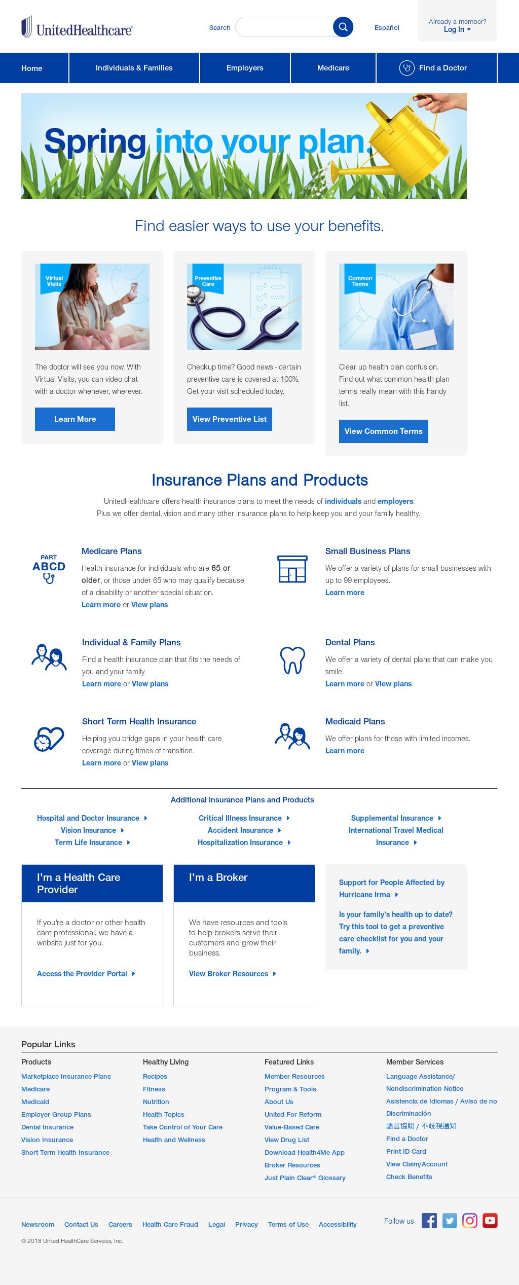 United healthcare dental web portal