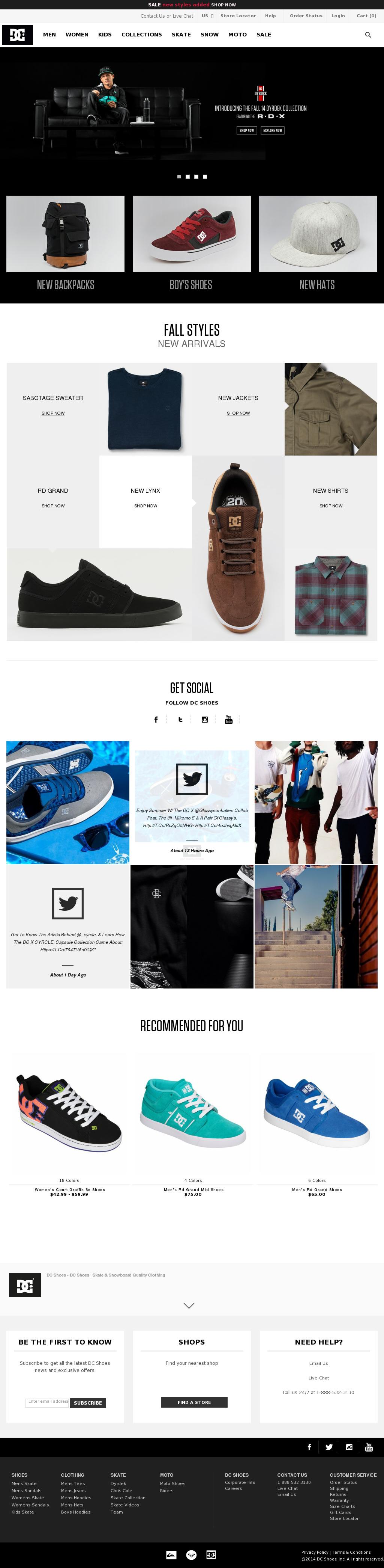 9063fa8d604 DC Shoes Competitors