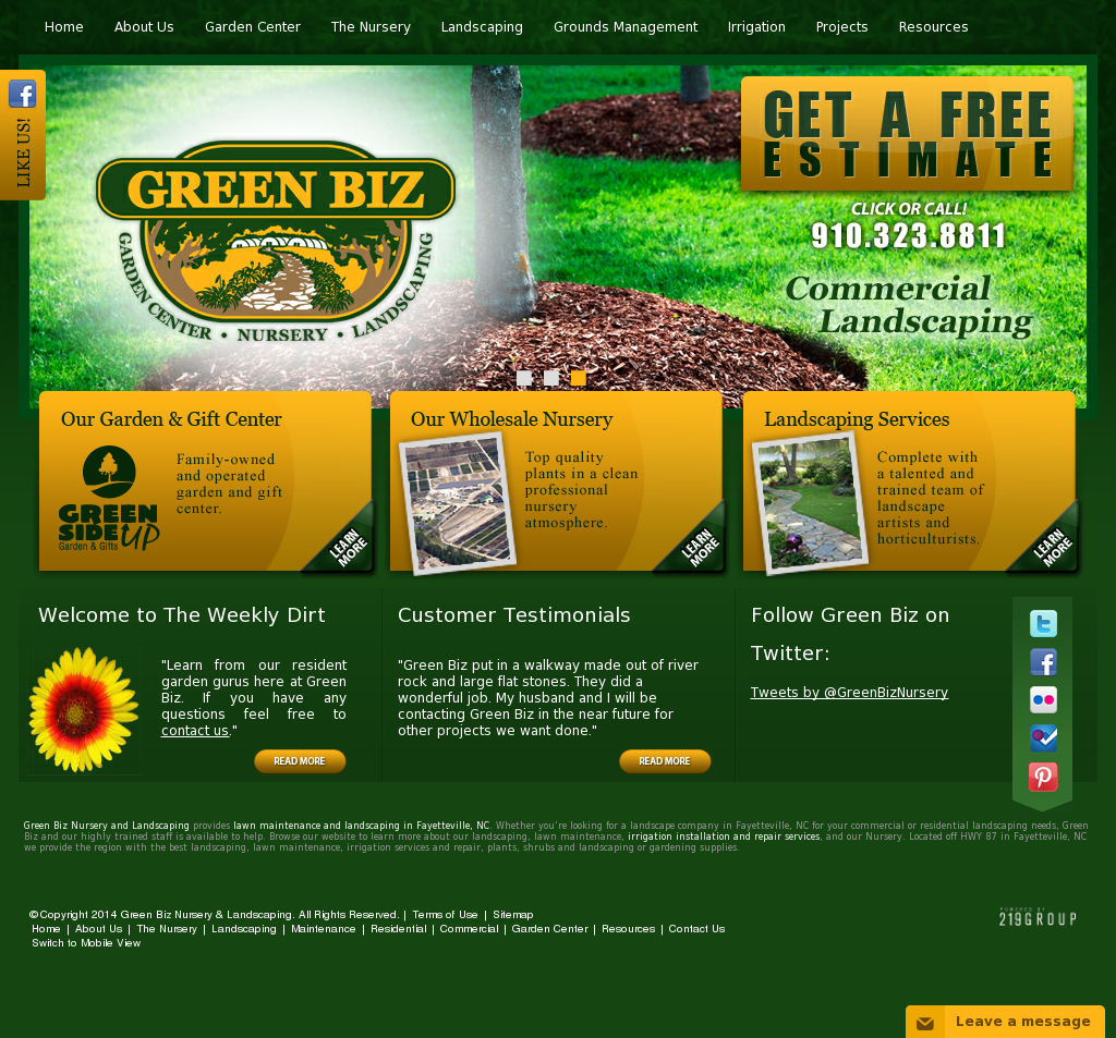 Green Biz Nursery Landscaping Compeors Revenue And Employees Owler Company Profile