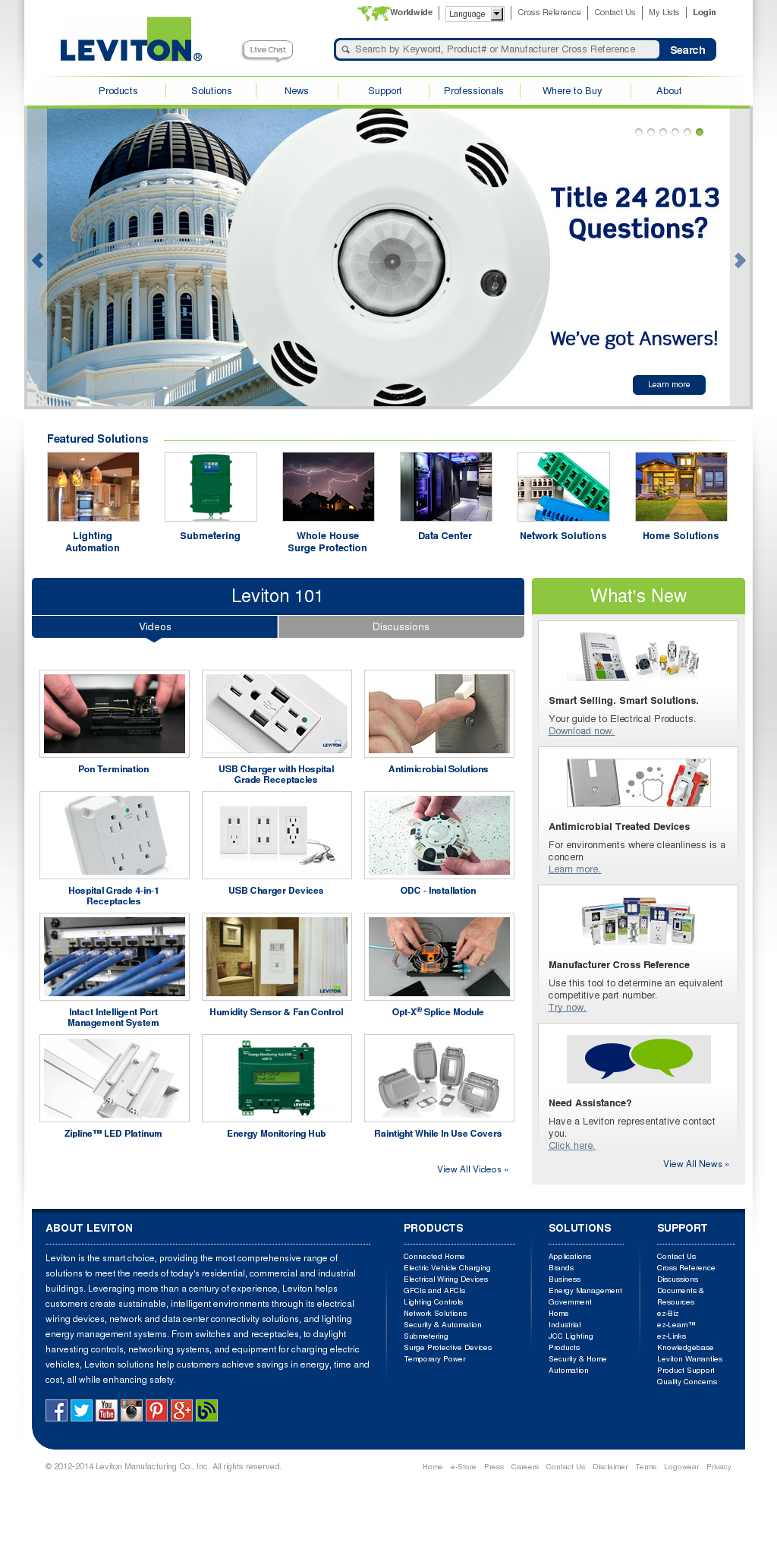 Leviton Manufacturing Competitors, Revenue and Employees - Owler ...