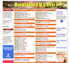 Beeline website history