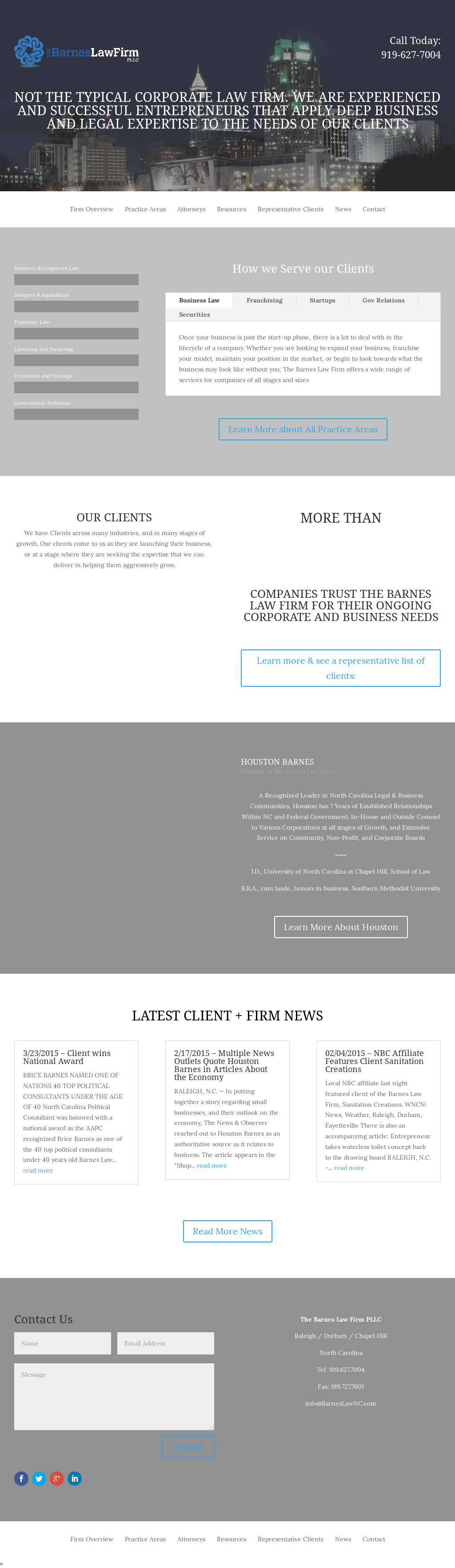 The Barnes Law Firm Competitors, Revenue and Employees