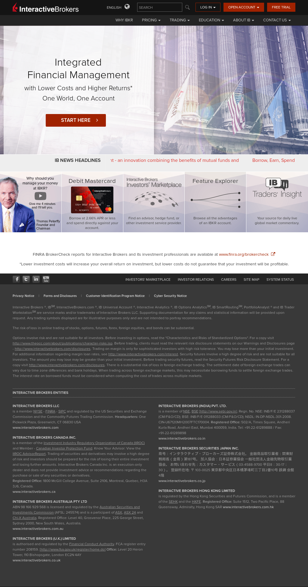 Interactive Brokers Group Competitors, Revenue and Employees