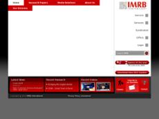 IMRB website history