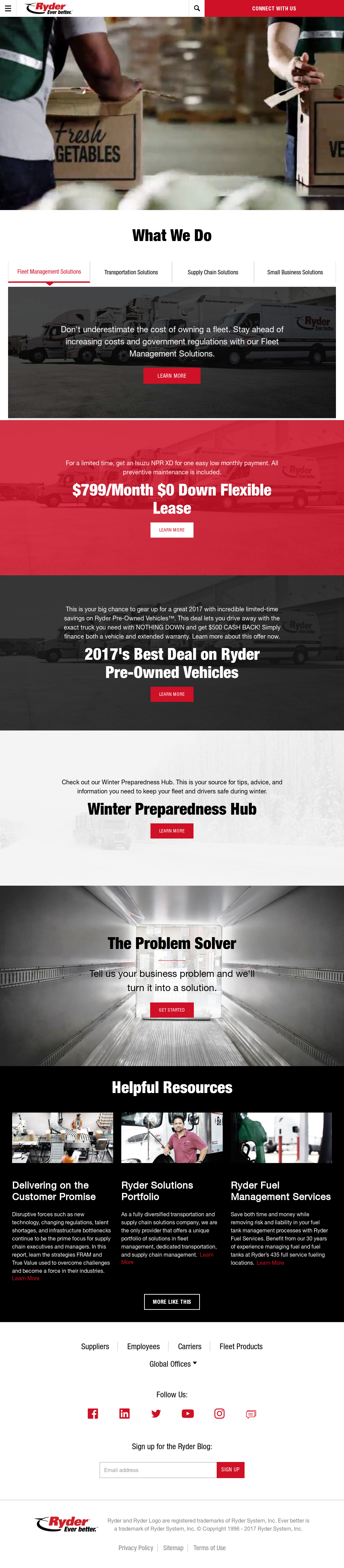 Ryder Competitors, Revenue and Employees - Owler Company Profile