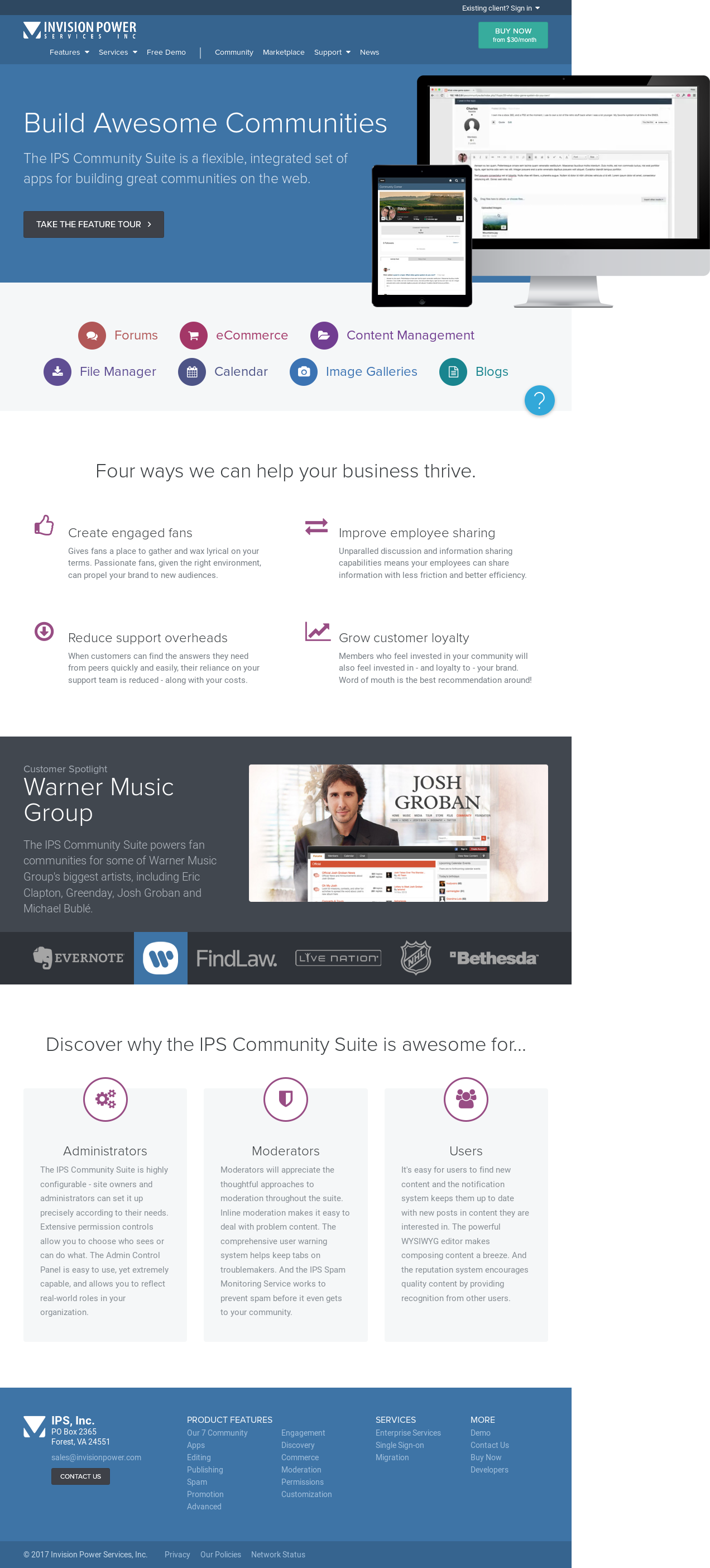Invisionpower Competitors, Revenue and Employees - Owler