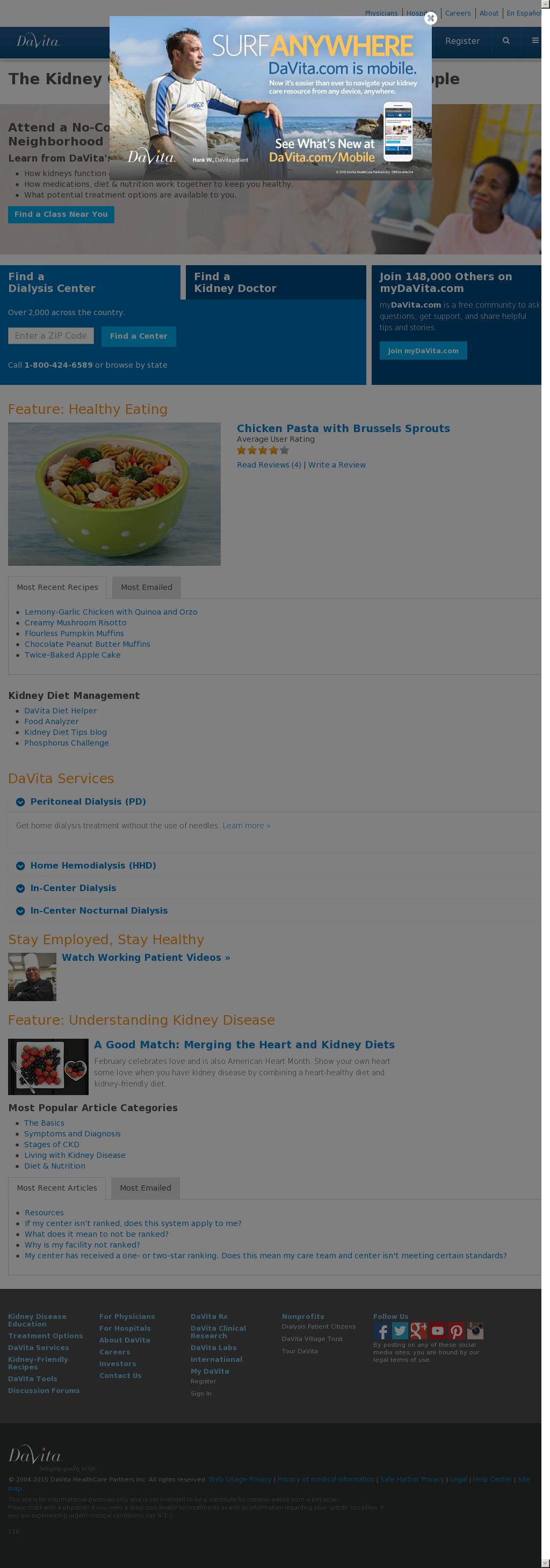DaVita Competitors, Revenue and Employees - Owler Company