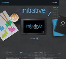 Initiative website history