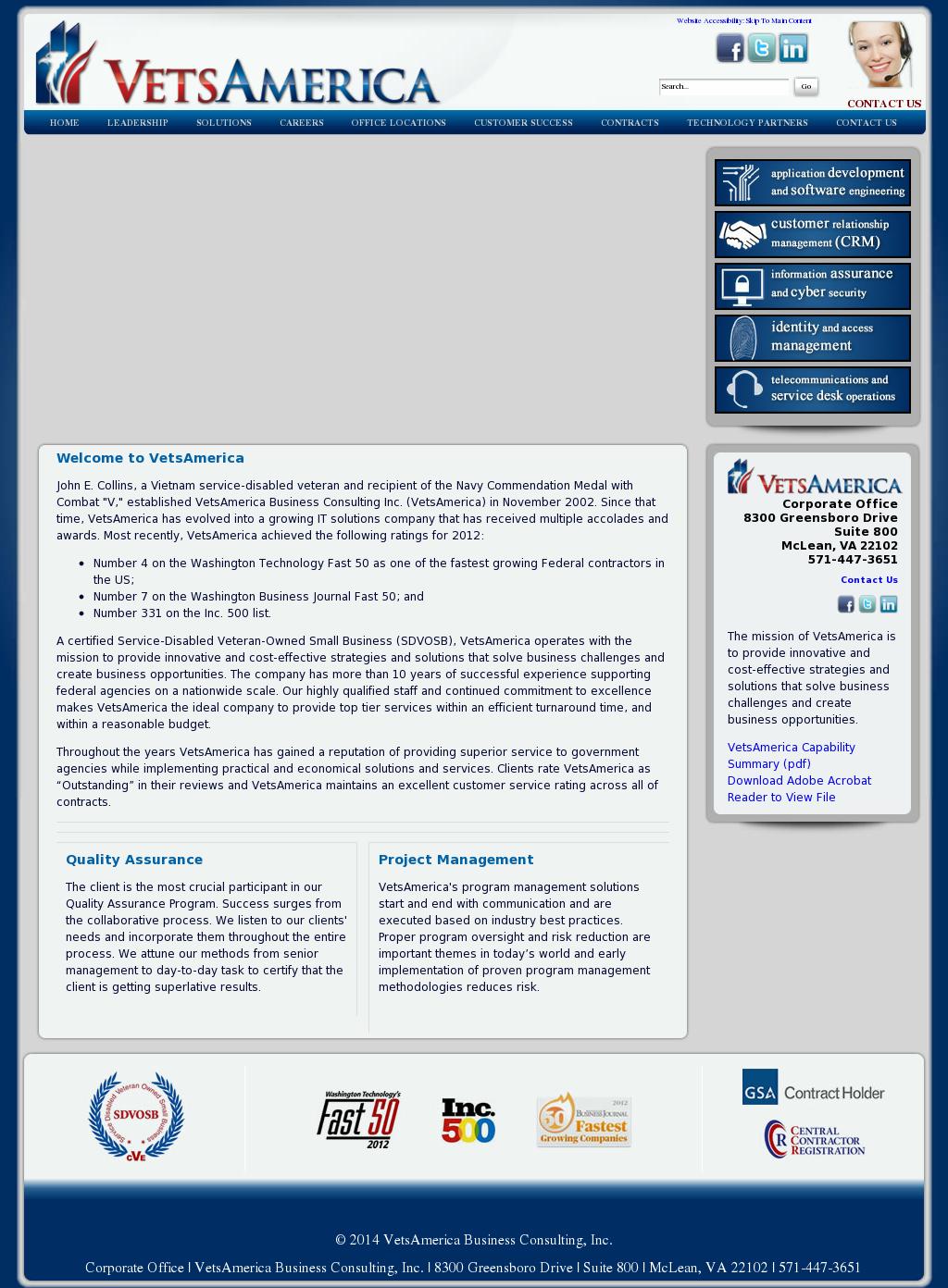 VetsAmerica Competitors, Revenue and Employees - Owler