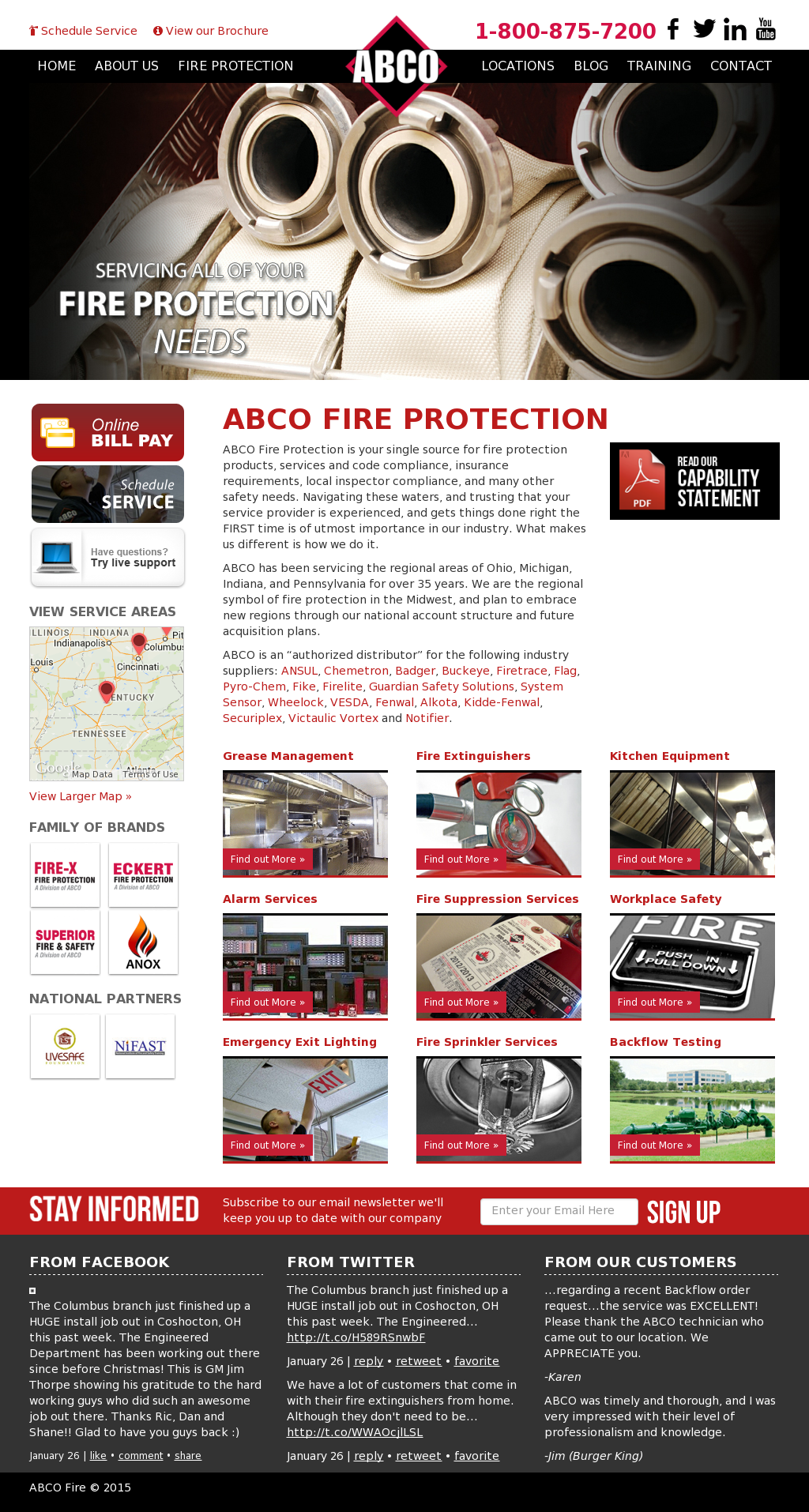 Abcofire Competitors, Revenue and Employees - Owler Company