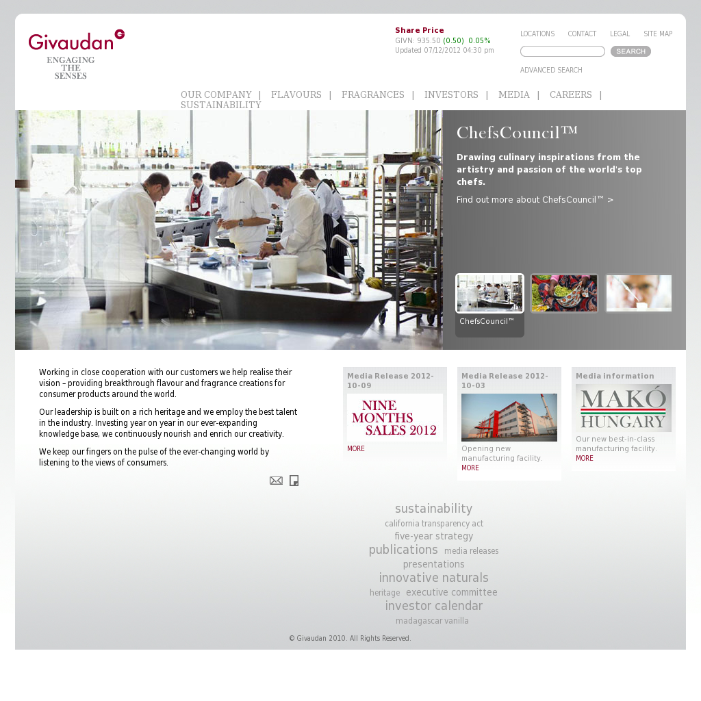 Givaudan Competitors, Revenue and Employees - Owler Company