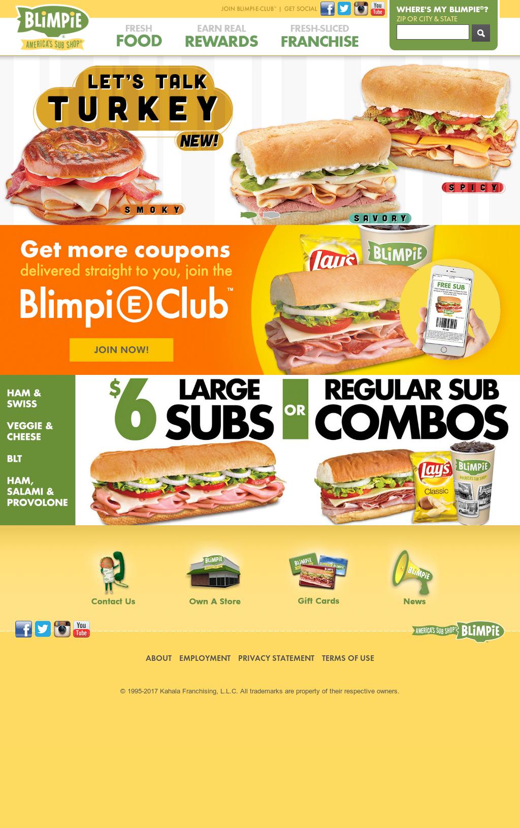 blimpie vs subway
