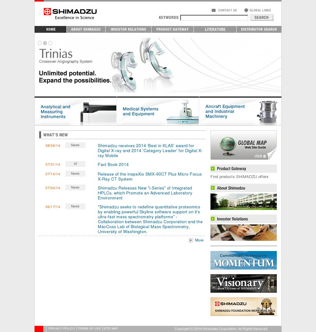 Shimadzu Competitors, Revenue and Employees - Owler Company Profile