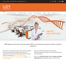 MPI Research website history