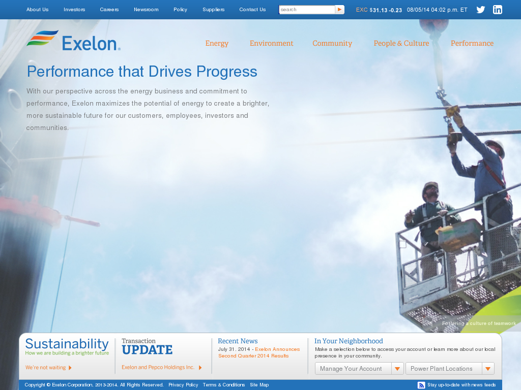 Exelon manufacturer